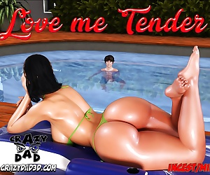 manga CrazyDad3D- Love Me Tender, milf , incest