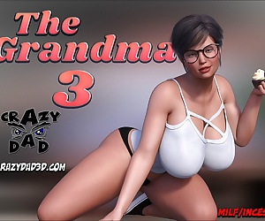 manga CrazyDad- The Grandma 3, milf , blowjob