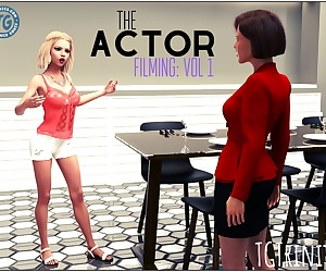 manga TGTrinity- The Actor- Filming Vol. 1, transformation  3d