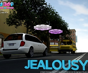 manga Y3DF – Jealousy, incest , 3d