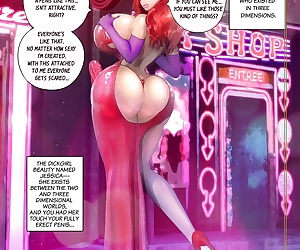 manga Rebis- Jessica Rabbit, blowjob , shemale
