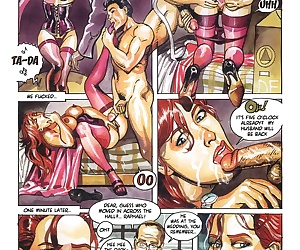 manga Flora's life- Bruno Coq, group , hardcore  erotic