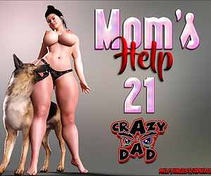 manga CrazyDad- Mom's Help 21, blowjob , incest