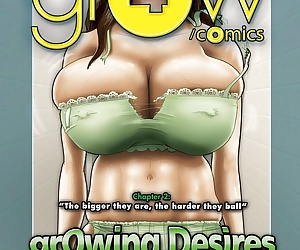 manga grOw 4.2- Growing Desires, big boobs , family