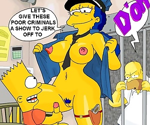 manga The Simpsons- evilweazel, blowjob , incest