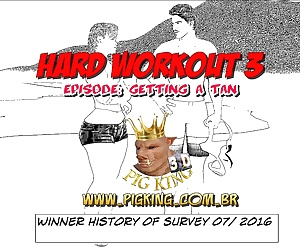 manga Hard Workout 3- Pig King, anal , shemale  interracical