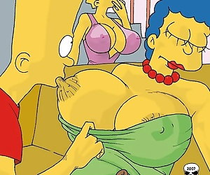 manga The Simpsons- Marge Exploited, incest , mom