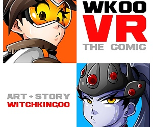 manga VR The Comic Overwatch- Witchking00, group , anal