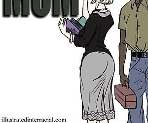 manga Mom- illustrated interracial, anal , mom