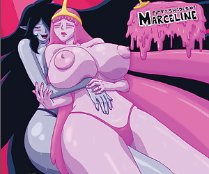 manga Adventure Time- 50 Shades of Marceline, big boobs  hardcore