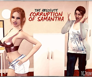 manga TGTrinity- The Absolute Corruption of.., transformation , 3d  slut