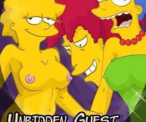 manga Unbidden Guest At Simpsons House, incest , mom