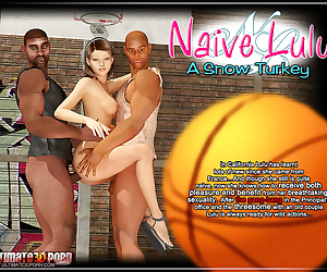 manga Naive Lulu- A Snow Turkey, threesome , anal  interracical