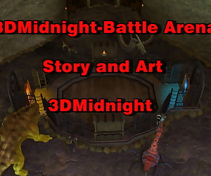 manga 3DMidnight- Battle Arena, blowjob , monster  hardcore
