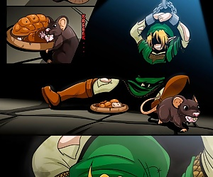 manga The Legend Of Zelda - The Ocarina Of.., rape , futanari
