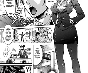 english manga Mika-sensei no Yuutsu - Mika-senseis.., rape , blowjob