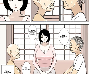 english manga Ojii-chan to Gifu to Giri no Musuko.., group , english  gif